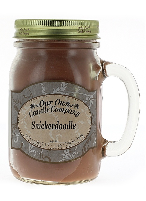 Our Own Candle Company Snickerdoodle Büyük Mum Renkli